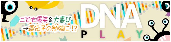 こども爆笑&大喜び→遺伝子の勉強に!? DNA Play