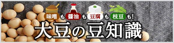 味噌も醤油も豆腐も枝豆も!  大豆の豆知識