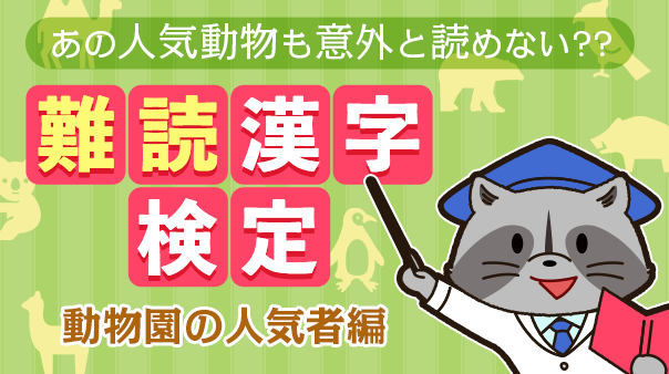 アライグマ 漢字