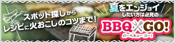 スポット探しからレシピに火おこしのコツまで!夏をエンジョイしたい方は必見のBBQ GO!